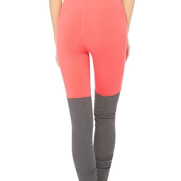 3bff5f1288 ALO Yoga Pants | Goddess Legging Starburst Stormy Heather | Poshmark